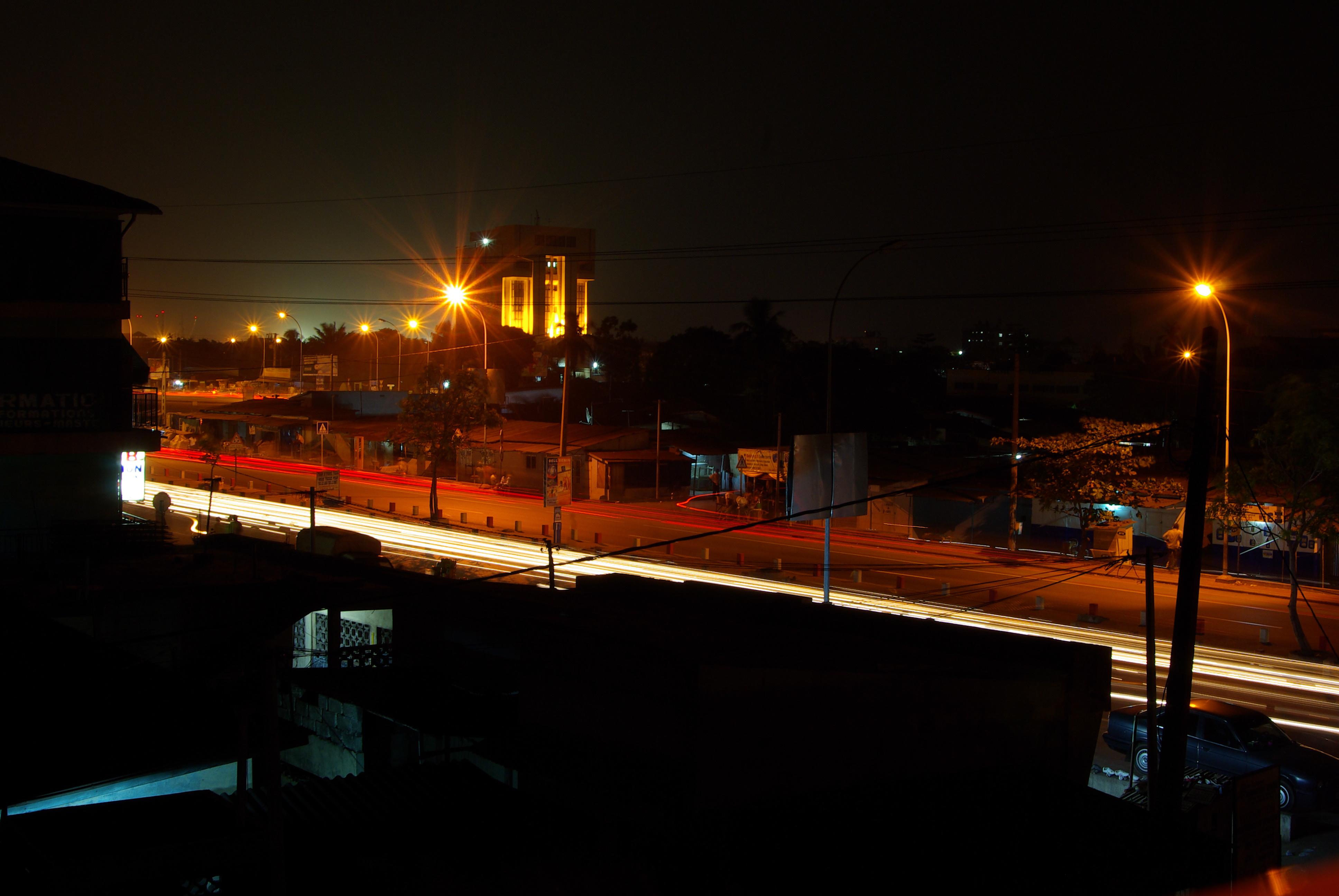 Cotonou la nuit - 2010
