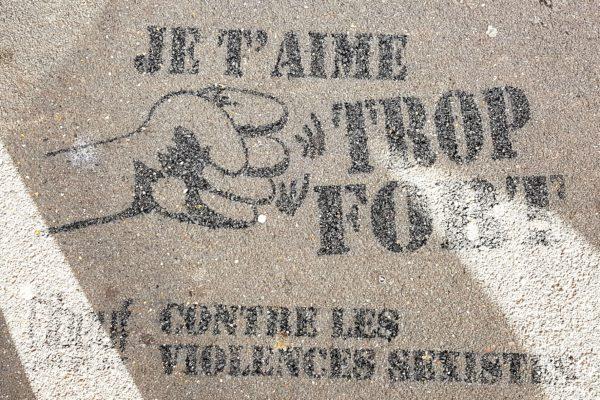 Clean Tag à Elbeuf dans le cadre de la semaine de lutte contre les violences sexistes