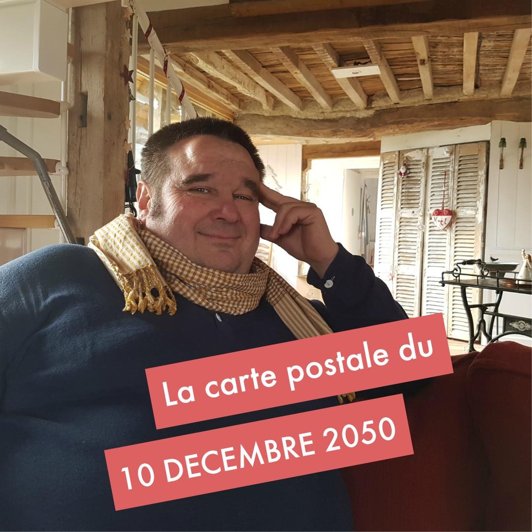 La carte postale d'Antoine Crevon, le 10 décembre 2050