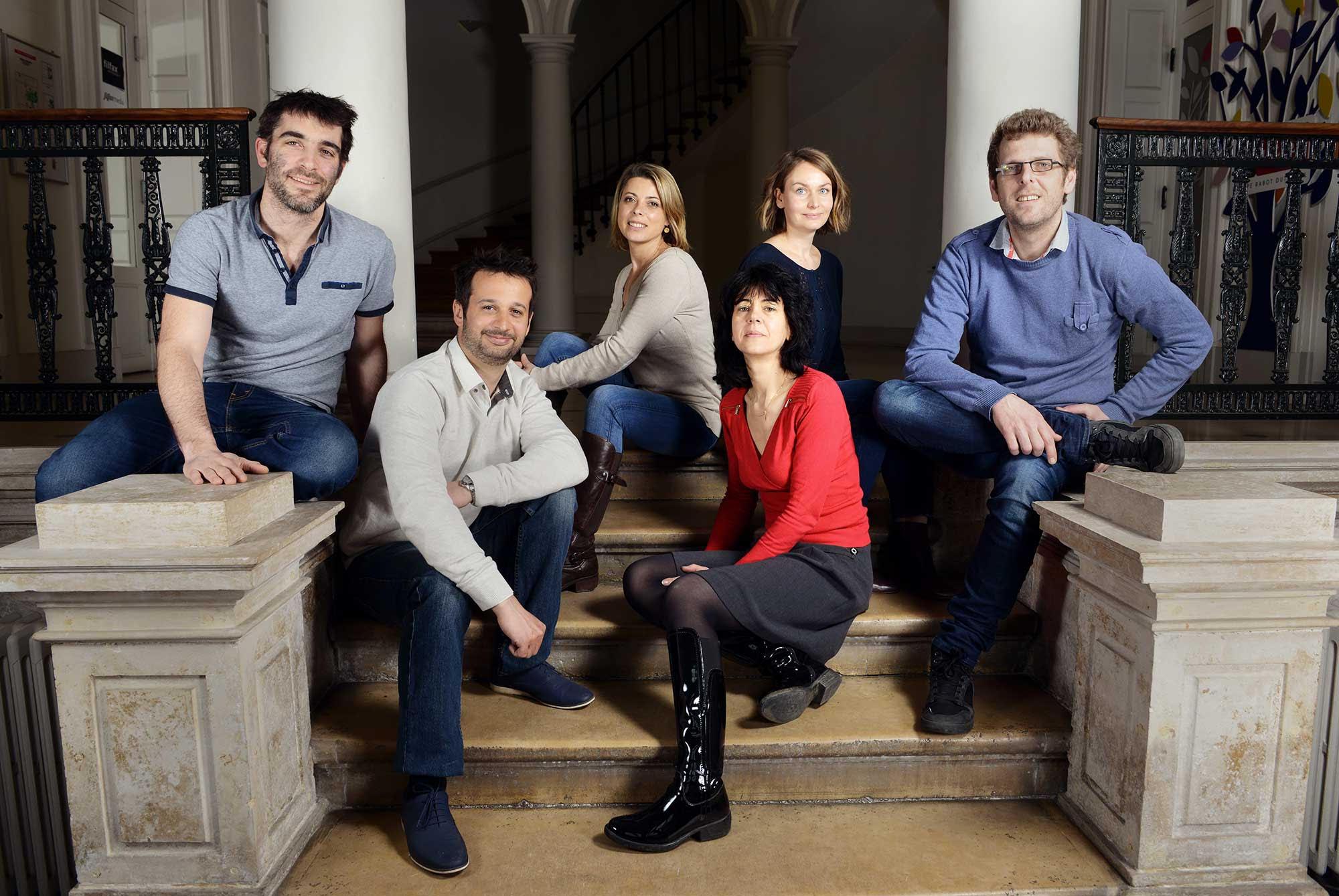 L'équipe du média indépendant Filfax