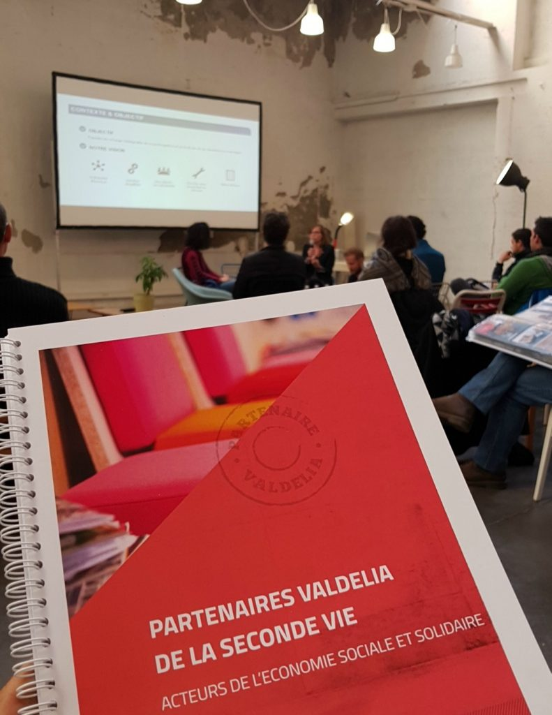 Annuaire des acteurs de l'ESS et du réemploi partenaires de VALDELIA