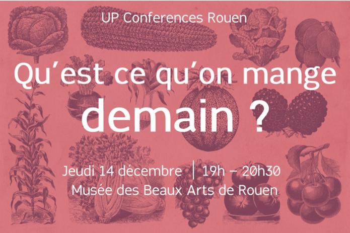Visuel de la Up Conférence du 14 décembre 2017 à Rouen