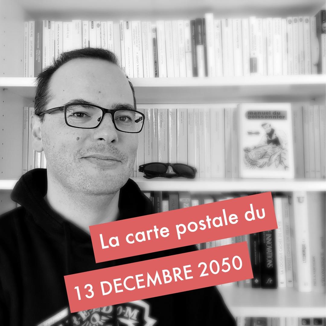 Carte postale du 13 décembre Sylvain Peyronnet