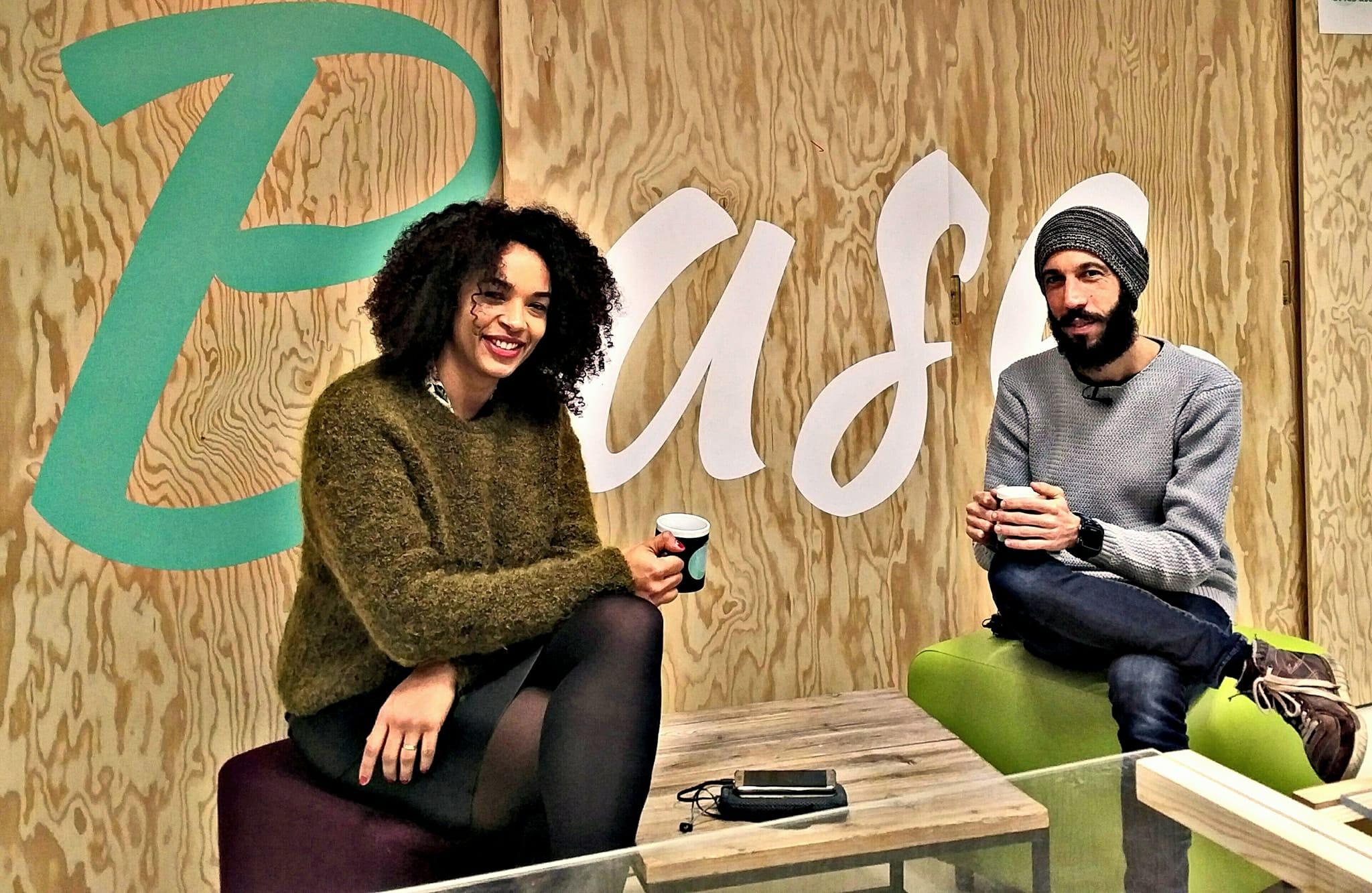 Enregistrement de l'épisode 52 de #2050 Le Podcastavec Sébastien Keiff, sur le bien-être